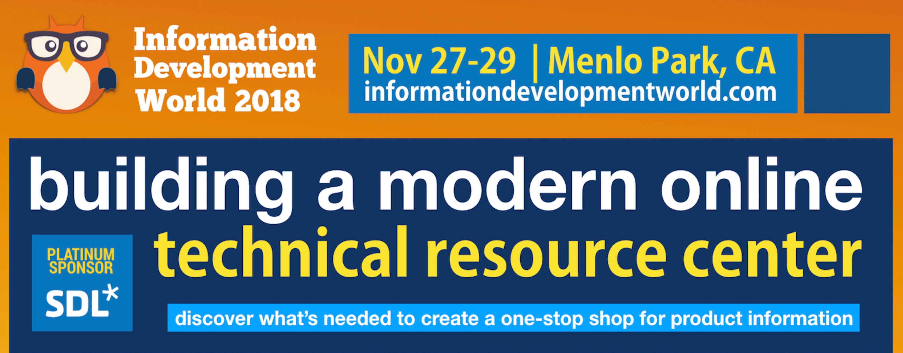 Information Development World 2018 Conference
